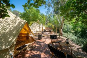 Castlemaine Gardens Luxury Glamping - Geraldton Accommodation
